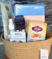 Gift Baskets & Cards - BIH Collection - BuyItHealthy Yoga Basket