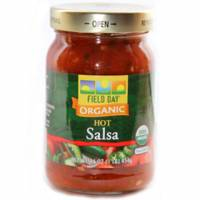 Field Day Products Organic Hot Salsa 16 oz (12 Pack)