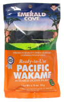 Grocery - Macrobiotic - Emerald Cove - Emerald Cove Pacific Wakame 1.76 oz (6 Pack)