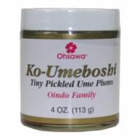 Macrobiotic - Umeboshi - Goldmine - Oindo Ko-Ume Tiny Umeboshi Plums - 4 oz