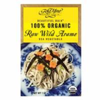 Macrobiotic - Sea Vegetables - Goldmine - Goldmine Organic Raw Wild Baja Arame 1 oz
