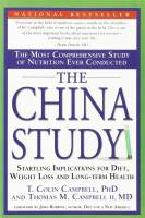 Books - Personal Development - Books - The China Study - T. Colin Campbell PhD and Thomas M. Campbell