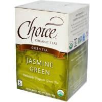 Buy One, Get One Free - Choice Organic Teas - Choice Organic Teas Jasmine Green (16 bags) (2 Pack)