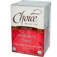 Buy One, Get One Free - Choice Organic Teas - Choice Organic Teas Rooibos Chai (16 bags) (2 Pack)