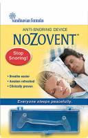 Scandinavian Formulas - Scandinavian Formulas Nozovent Anti-Snoring Device 2 pc