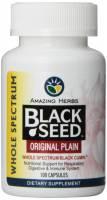 Amazing Herbs - Amazing Herbs Black Seed Original Plain 100 capsule