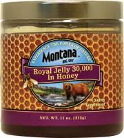 Macrobiotic - Spreads - Montana Naturals - Montana Naturals Royal Jelly 30,000mg in Honey 11 oz