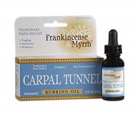 Homeopathy - Pain Relief - Frankincense & Myrrh - Frankincense & Myrrh Carpal Tunnel Rubbing Oil 0.5 oz
