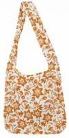 Home Products - Bags, Pouches & Boxes - Eco-Bags Products - Eco-Bags Products Sami Floral Print Tangerine