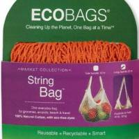 Home Products - Bags, Pouches & Boxes - Eco-Bags Products - Eco-Bags Products String Bag Long Handle Natural Cotton Chili