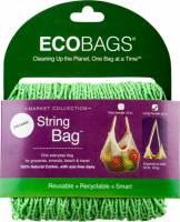 Home Products - Bags, Pouches & Boxes - Eco-Bags Products - Eco-Bags Products String Bag Tote Handle Natural Cotton Celery Seed