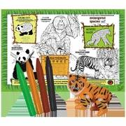 Toys - Health Science Labs - Endangered Species Eco-Doodle Activity Placemat
