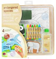 Toys - Health Science Labs - Endangered Species Animal Coloring Bath Set 4 oz - Large