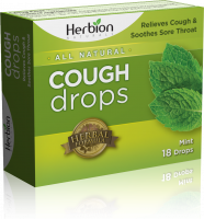 Health & Beauty - Cough Syrup & Lozenges - Herbion - Herbion Cough Drops Mint 18 lozenge