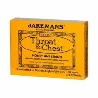Health & Beauty - Cough Syrup & Lozenges - Jakemans - Jakemans Throat Lozenges Box 24 ct - Lemon Menthol