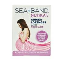 Health & Beauty - Cough Syrup & Lozenges - Sea-Band - Sea-Band Ginger Lozenges with Folic Acid