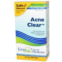 Homeopathy - Skin Care - King Bio - King Bio Acne Clear 2 oz