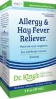 King Bio Allergies & Hay Fever 2 oz