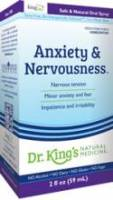 Homeopathy - Nerves & Stress - King Bio - King Bio Anxiety and Nervousness 2 oz