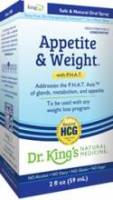 Homeopathy - Nerves & Stress - King Bio - King Bio Appetite & Weight Control 2 oz