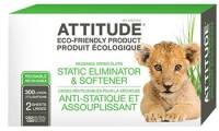 Home Products - Cleaning Supplies - Attitude - Attitude Anti-Static Eliminator Cloth Sheet 300 Load 2 ct