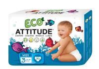Baby - Attitude - Attitude Diapers Size 3 (13-28 LBS) 30 ct