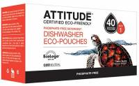 Home Products - Cleaning Supplies - Attitude - Attitude Dishwasher Detergent Eco Pouches 40 pouch