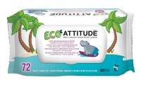Baby - Wipes - Attitude - Attitude Eco Baby Wipes 72 ct