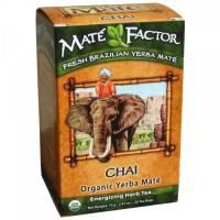 Mate Factor - Mate Factor Yerba Mate Organic Tea Box 20 bags - Chai