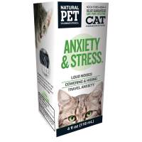 Pet - Health Supplies - Natural Pet Pharmaceuticals - Natural Pet Pharmaceuticals Anxiety & Stress Cat 4 oz