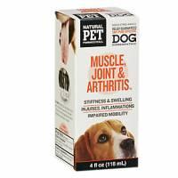 Pet - Health Supplies - Natural Pet Pharmaceuticals - Natural Pet Pharmaceuticals Dog Muscle Joint & Arthritis 4 oz