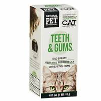 Pet - Health Supplies - Natural Pet Pharmaceuticals - Natural Pet Pharmaceuticals Teeth & Gums Cat 4 oz