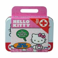 Health & Beauty - Pain Relief - Health Science Labs - Hello Kitty First Aid Kit 13 pc