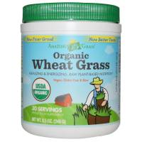 Grocery - Beverages - Amazing Grass - Amazing Grass Organic Wheat Grass Powder - 30 Servings
