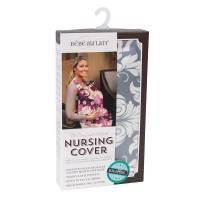 Baby - Pregnancy & Maternity - Bebe Au Lait - Bebe Au Lait Premium Cotton Nursing Cover - Chateau Silver