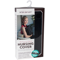 Baby - Pregnancy & Maternity - Bebe Au Lait - Bebe Au Lait Classic Black Eyelet Nursing Cover