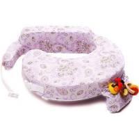 My Brest Friend Original Nursing Pillow - Petal Paisley