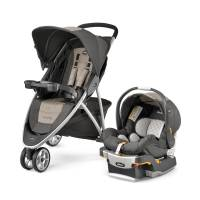 Baby - Baby Gear - Chicco - Chicco Viaro Travel System - Teak